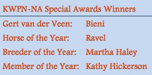 2010 KWPN-NA Special Awards